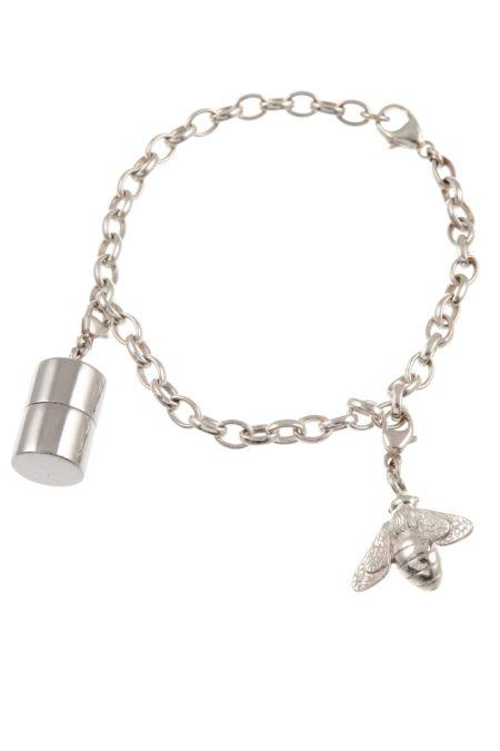 Silver Keepsake Baby Gift Charm Bracelet